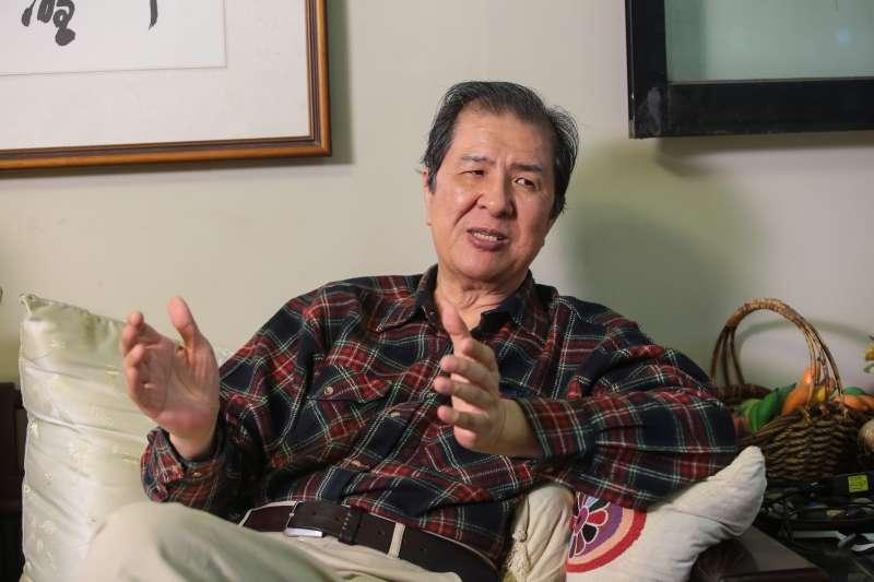 20171228-林茂生孫女林玲文專訪,陪同者為雅歌出版社蘇南洲社長。(顏麟宇攝)