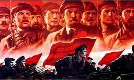 1917年的十月革命(圖/Outside提供)