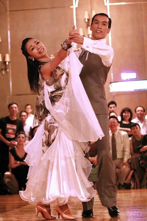 國際國標舞界的銀色夫妻檔劉順益與陳媦娟