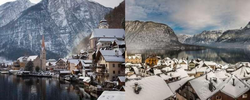 堪稱歐洲最美的湖畔小鎮,在冬季暢遊宛如身處童話小鎮(圖/女子學提供)