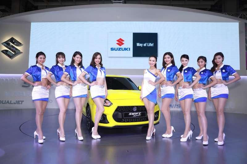 此次台北國際新車大展中,TAIWAN SUZUKI特別製作了專屬官方APP,內容相當豐富(圖/SUZUKI提供)