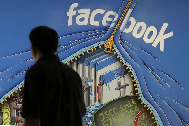 臉書明確禁止散布情色和仇恨內容(美聯社)