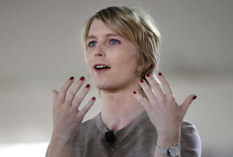 美國前大兵曼寧(Chelsea Manning)。(美聯社)