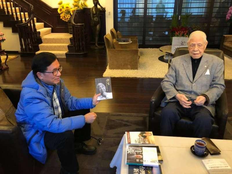 hrn前總統陳水扁15日拜訪另一位前總統李登輝。(陳致中臉書).jpg