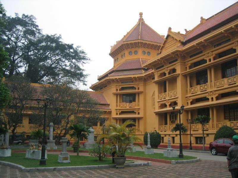 20180115-越南國家歷史博物館。(Chuoibk@wikipedia/public domain)