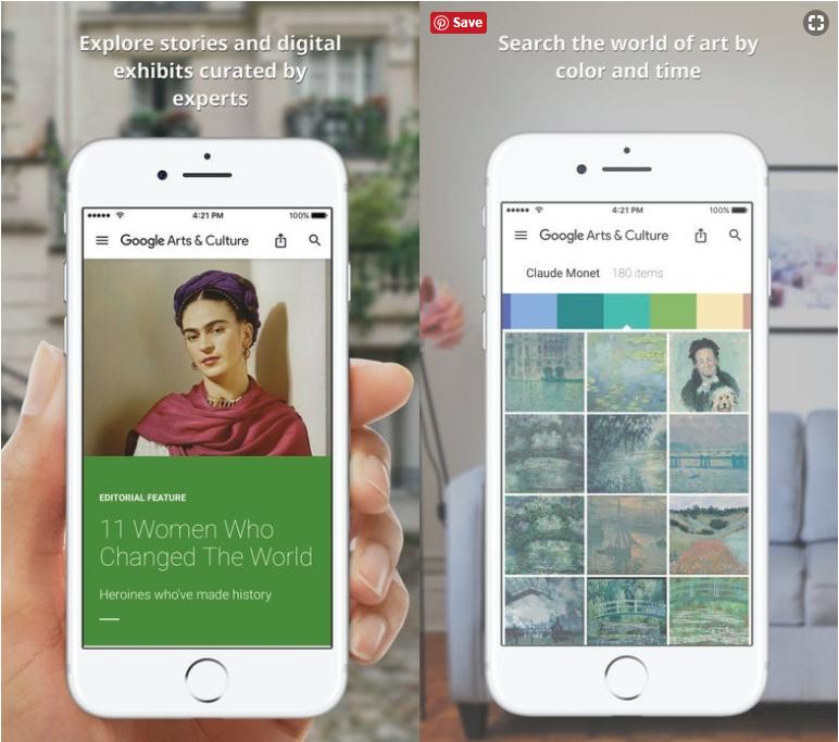 Google藝術計畫是Google在2011年推出,與全球各大知名美術館、博物館合作的計畫。(圖/數位時代提供)