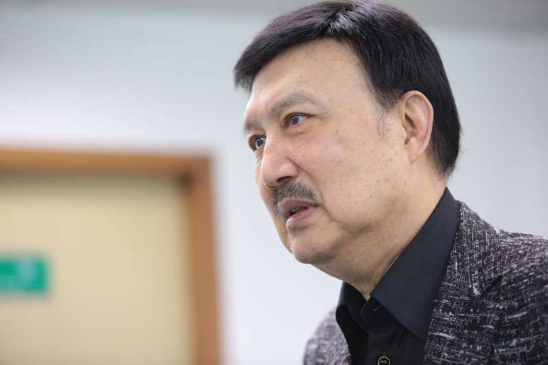 20180117-新北市黨部主委余天17日出席民進黨中常會。(顏麟宇攝)