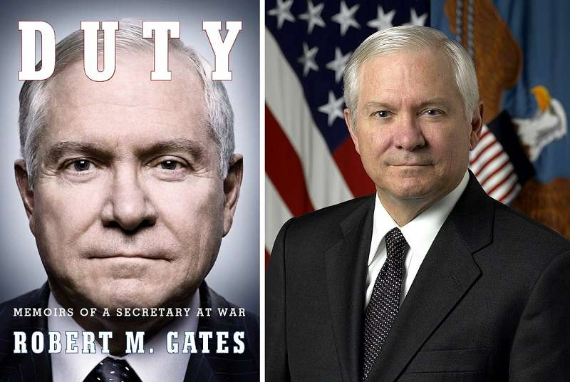 美國國防部長蓋茲(維基百科)在2014年出版的回憶錄《責任:戰爭中一名部長回憶錄》(Duty: Memoirs of a Secretary at War)四彈頭引信誤送台灣。