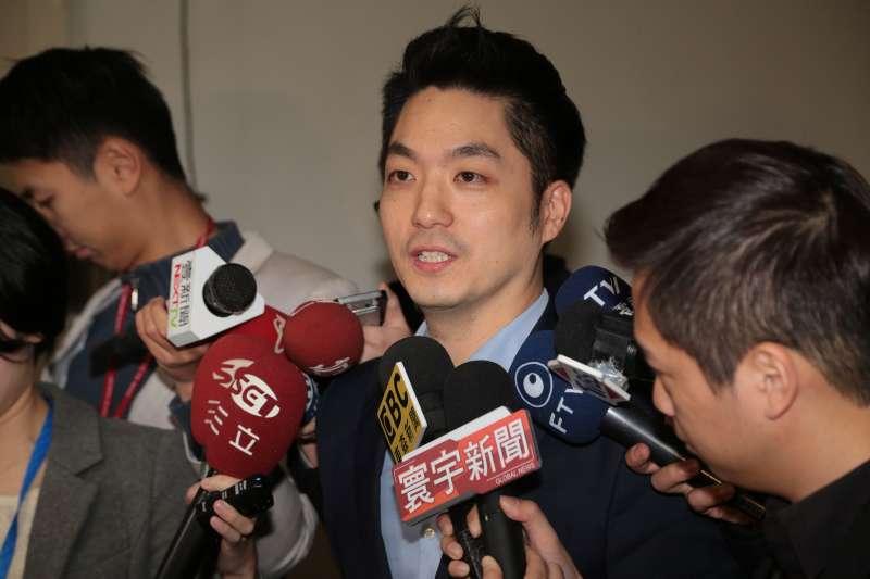 20180119-國民黨立委蔣萬安19日於立院接受媒體聯訪。(顏麟宇攝)