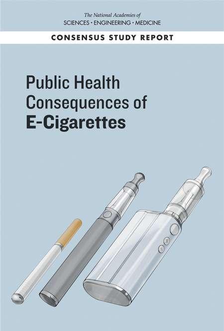 「美國國家科學、 工程與醫學學院」在2018年1月23日發表的「電子菸對公共健康的影響」報告。(www.nap.edu)