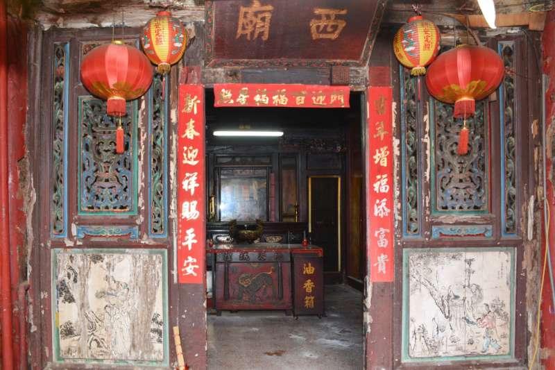 西廟為桃園四大古廟宇之一,最早的文獻記載是清嘉慶25年(1820年),距今約200年,歷史悠久。(圖/桃園市政府提供)