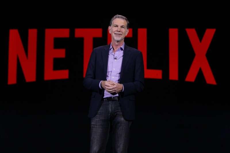Netflix創辦人暨執行長里德.海斯汀(Reed Hastings)認為消費者仍持續從傳統電視轉移到網路電視。(圖/Netflix)