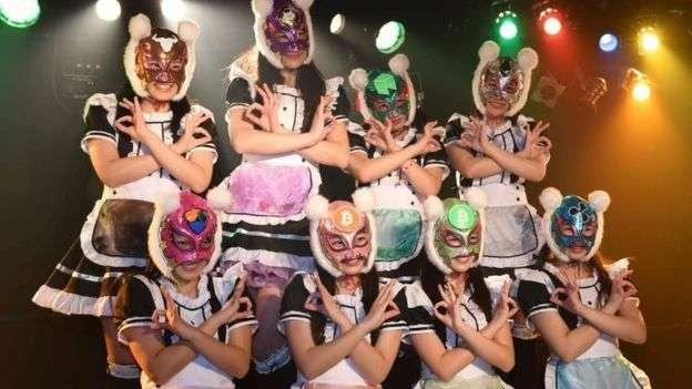 日本一個以虛擬貨幣為名稱的少女偶像組合。日本是少數支持虛擬貨幣的國家之一。(BBC中文網)
