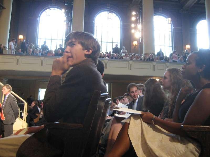 耶魯大學「心理學與美好生活」課程吸引1182位學生選修,學生須在演藝廳內上課。(示意圖非當事人)(圖/g c@flickr)