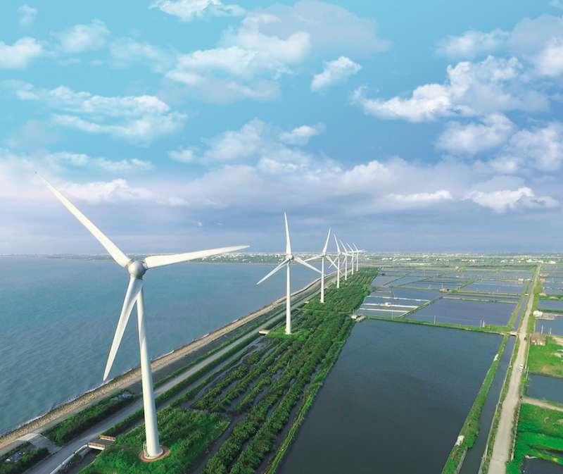 彰化發展離岸風電外商投資預估投資總金額已達到新台幣1兆1,920億元,建置後每年營業稅將高達約38億元。(圖/彰化縣政府提供)