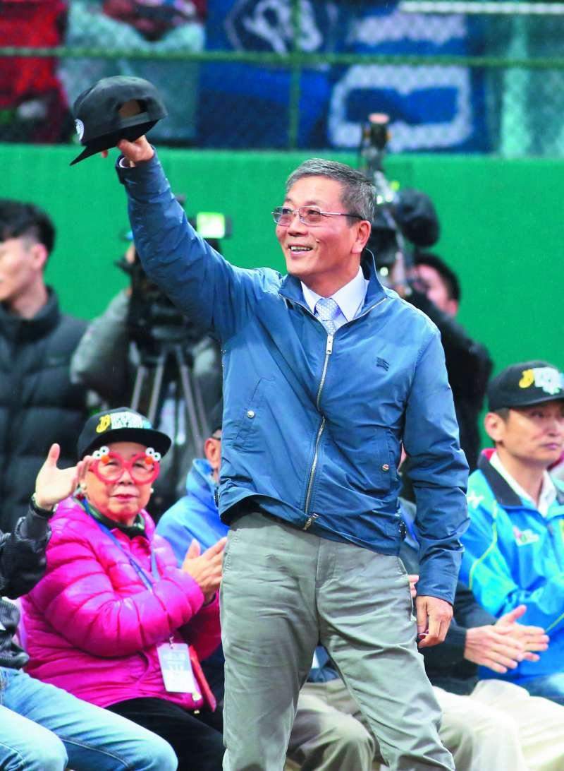 林德福主導的體育協會改革,遭受強力挑戰。(郭晉瑋攝)