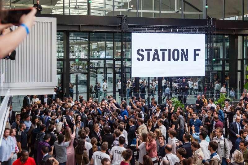 法國「Station F」目前是全球最大新創中心(取自@StationF/Facebook)