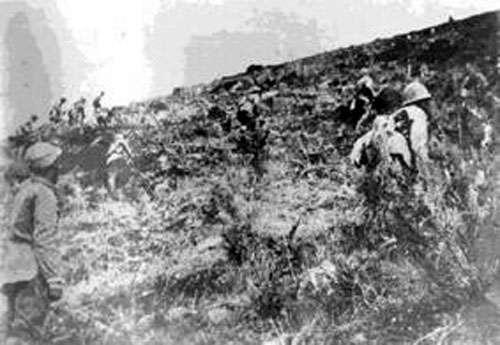 國共內戰。(取自維基百科)