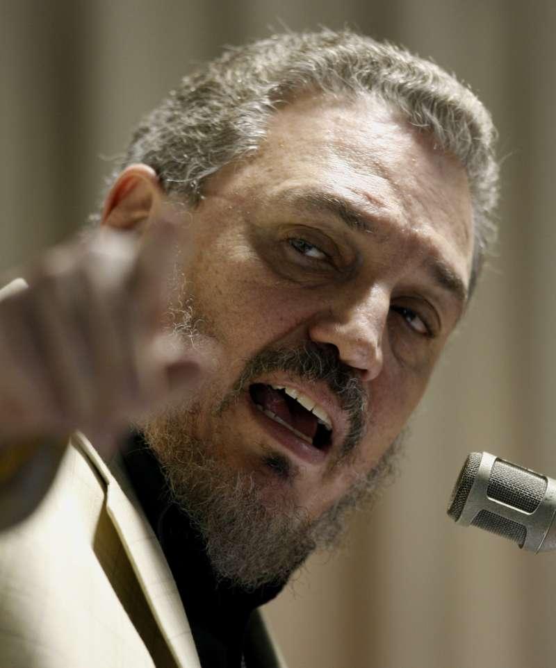 古巴傳奇革命家卡斯楚長子小菲德爾(Fidel Castro Diaz-Balart)(AP)