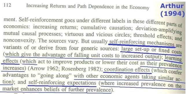 圖一:Arthur (1994, p. 112)是收錄自Arthur (1989)研討會論文(作者提供)