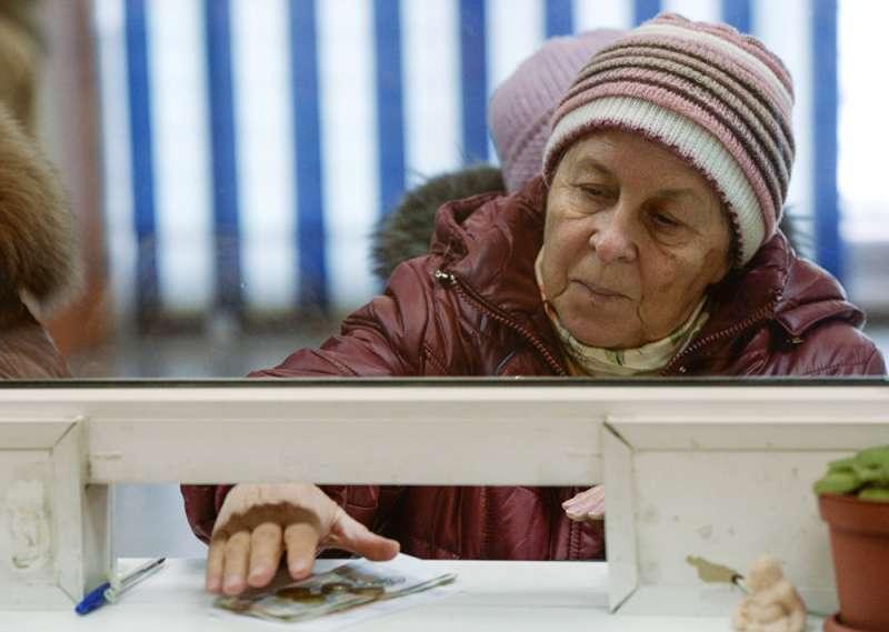 俄羅斯退休老人。(俄羅斯衛星通訊社)
