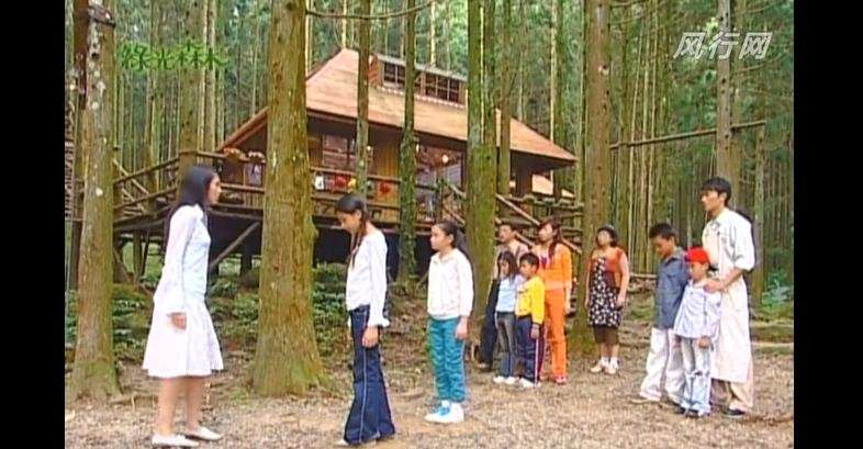 《綠光森林》偶像劇場景。(圖/擷取自YOUTUBE)