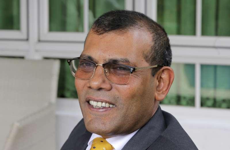 馬爾地夫前總統納西德目前住在斯里蘭卡(AP)