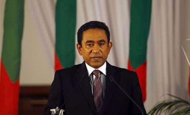 馬爾地夫現任總統雅門(AP)