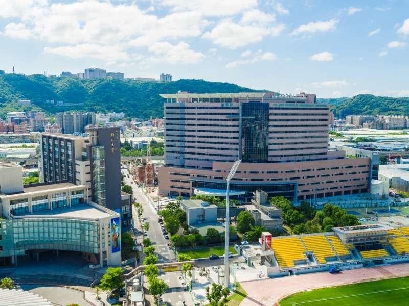 位於泰山區的【輔仁大學附設醫院】於2017年10月開始營運(圖/合登上豪提供)