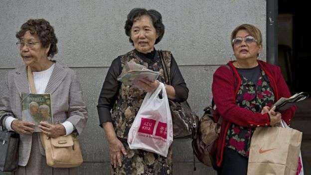 巴西有一大群日本移民。(BBC中文網)