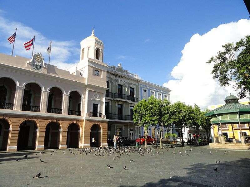 加密虛擬貨幣群體目前定居在波多黎各Old San Juan,打算開始買地、房產,建造他們想像中的城市。(圖/WikiCommons,數位時代提供)