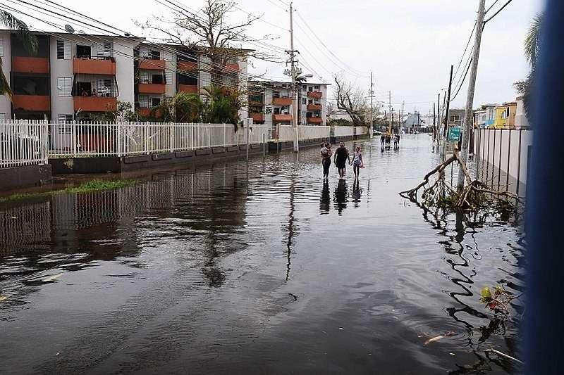 颶風瑪莉亞於2017年9月重創波多黎各,造成的經濟問題,卻成為加密虛擬貨幣團體進駐的機會。(圖/WikiCommons,數位時代提供)