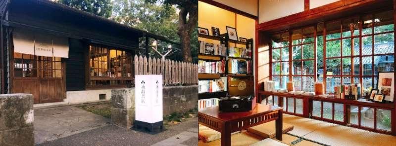 80 年日式老屋搖身一變成為和風書店,懷舊感十足。(圖/女子學提供)