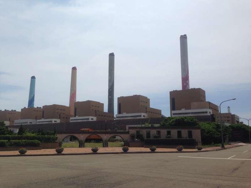 20180208-台中火力發電廠。(台灣電力公司、台中市政府提供)
