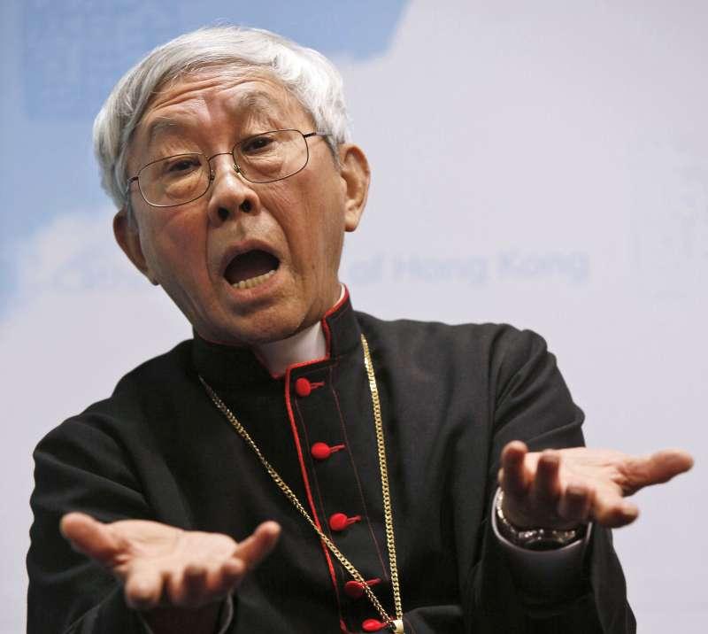香港榮休主教陳日君,大力反對梵蒂岡承認中國官方教會與自封主教等協議。(美聯社)