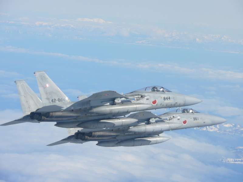 F-15。(航空自衛隊官網)