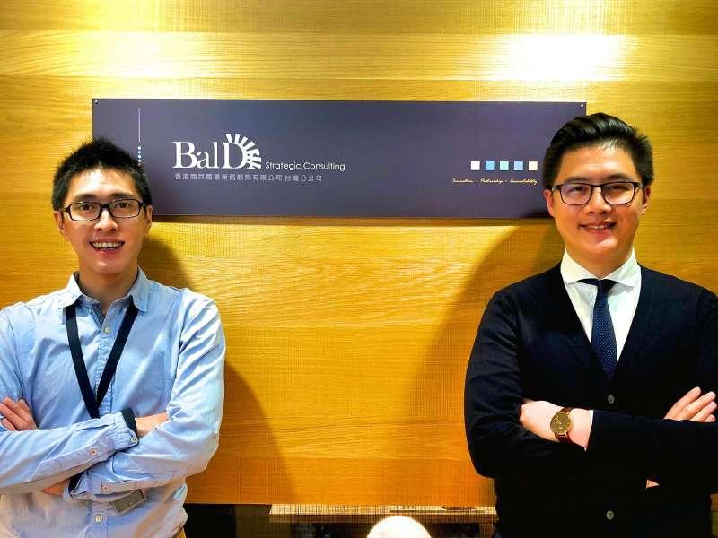 貝爾德創辦人暨營運長劉昀昇(左)、業務拓展經理龐傑(右)(圖/貝爾德提供)