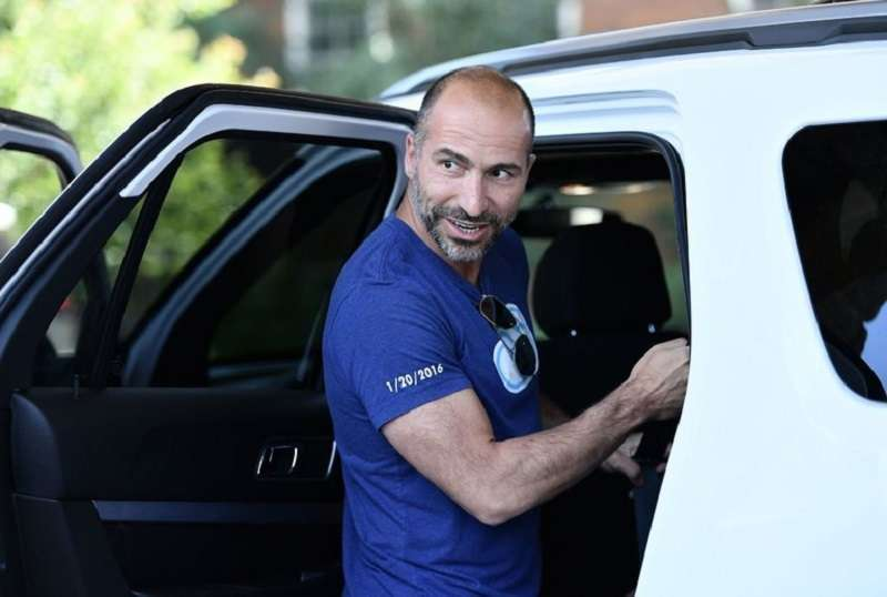 Uber新任執行長Dara Khosrowshahi,成功化解一場官司。(AP)