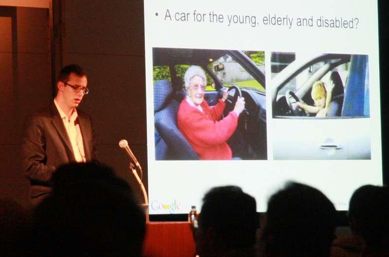 谷歌的自動駕駛部門高幹Anthony Levandowski創業不久就把新創賣給Uber。(攝於2011年∕shinnygogo∕維基百科)