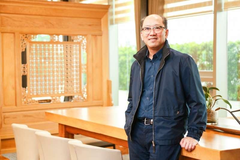 麗寶樂園渡假區副董事長陳志鴻。(圖/賀大新攝,經理人提供)
