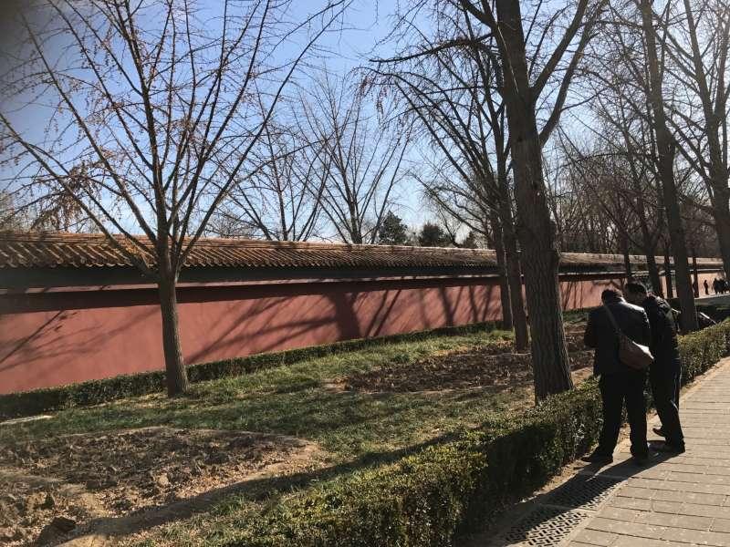 20180213-北京景山公園。(風傳媒)