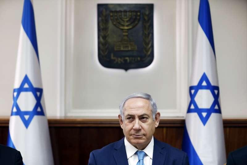 以色列總理納坦雅胡涉入多起貪腐案,警方建議起訴。(美聯社)