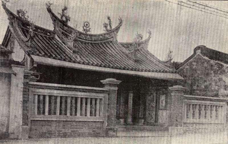 西來庵是一座瘟神廟,主神為五福大帝(五瘟神),是余清芳的起義基地。(圖/康豹,研之有物提供)