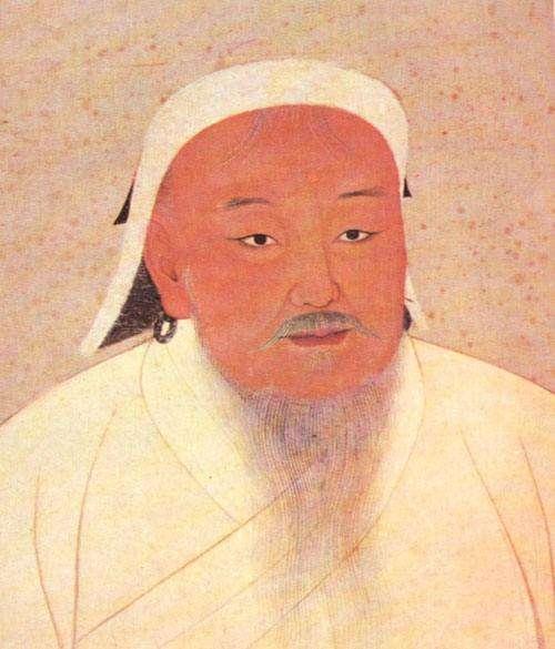 成吉思汗畫像。(圖/澎湃新聞提供)