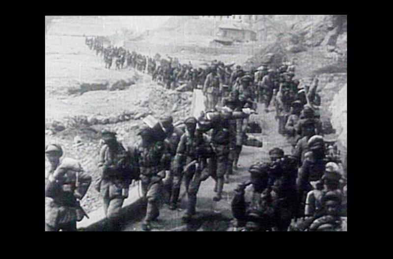 1947年3月10日,中共首都留守處人員從南京返回延安3天後,國軍胡宗南兵團從洛川沿成榆公路向延安進攻。(維基百科)