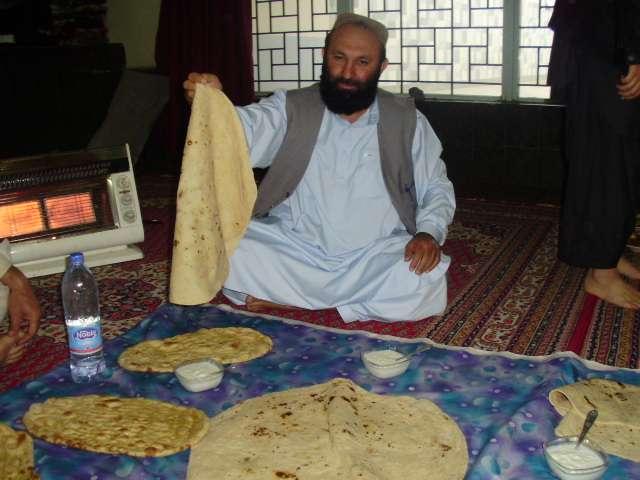 阿富汗式大餅(作者提供)