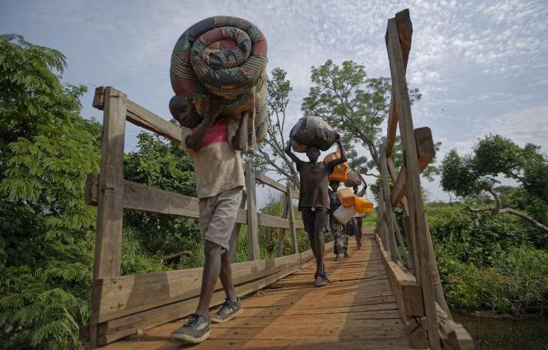 南蘇丹內戰連年,許多民眾流離失所成為難民。