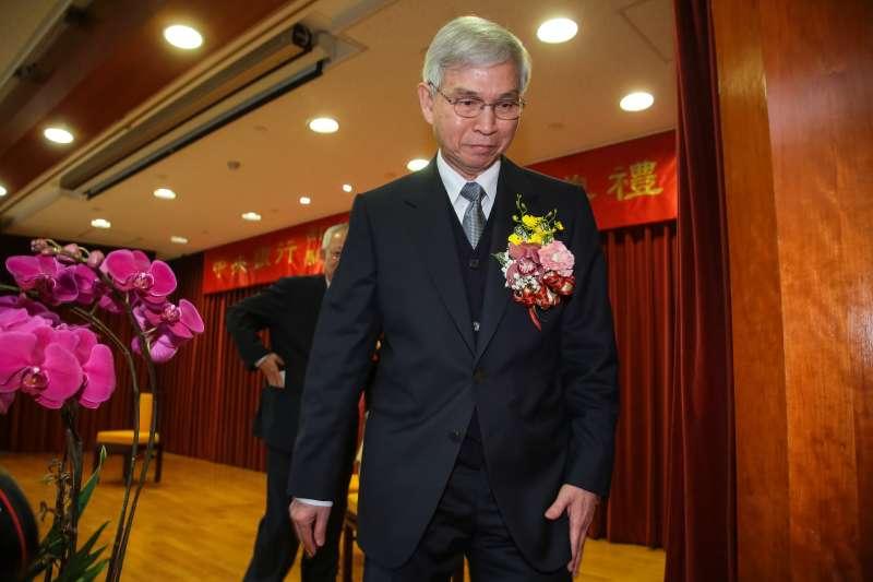 20180226-新任央行總裁楊金龍26日出席中央銀行新舊任總裁交接典禮。(顏麟宇攝)
