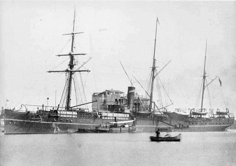 英國籍蒸汽輪船布哈拉號 (SS Bokhara), 1892 年時載運香港板球協會的成員到上海參加比賽,回程途經台灣北部時遭遇颱風,最後沉沒於澎湖姑婆嶼附近,造成約 130 人不幸身亡,僅 20 餘人獲救。(圖/臧振華,研之有物提供)