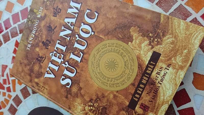越南史略封面。(圖/Nam Quốc Văn提供|想想論壇)